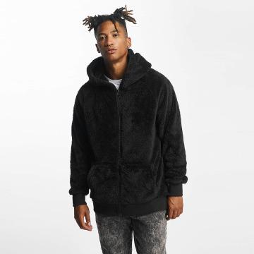 Urban Classics Zip Hoodie Teddy black