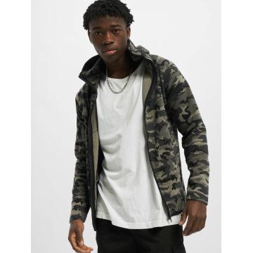 Urban Classics Zip Hoodie Interlock Camo camouflage