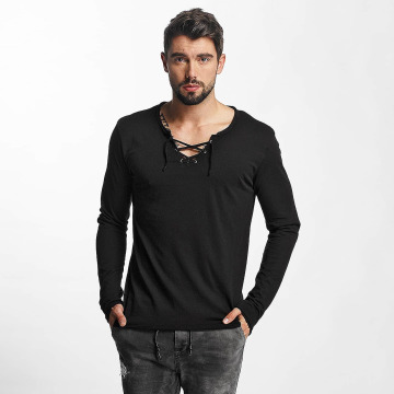 Urban Surface Pitkähihaiset paidat String musta