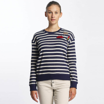 Urban Surface Pullover Striped Patch blau