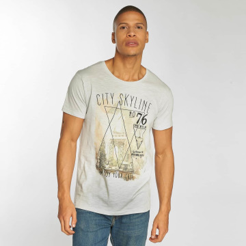Urban Surface t-shirt Skyline grijs