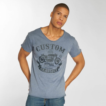 Urban Surface t-shirt Custom indigo