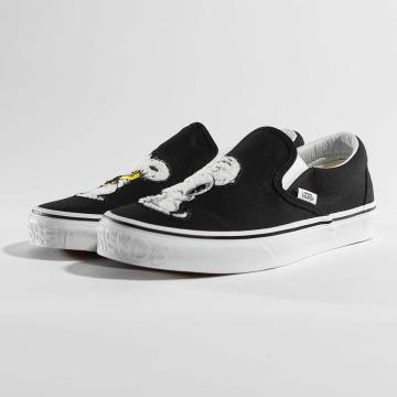 Vans Сникеры Peanuts Classic Slip On черный