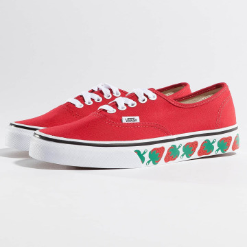 Vans Baskets Authentic Strawberry Tape rouge