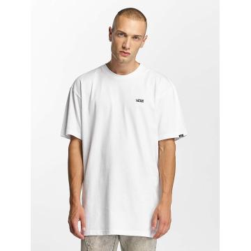 Vans T-shirt Left Chest Logo bianco