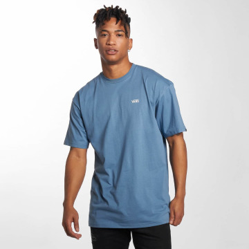 Vans T-Shirt Left Chest Logo blue
