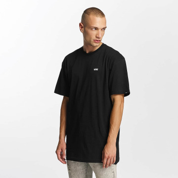 Vans T-shirts Left Chest Logo sort