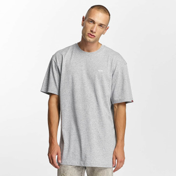 Vans T-Shirty Left Chest Logo szary