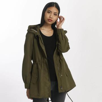 Vero Moda Демисезонная куртка vmQueens Champ зеленый