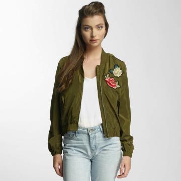 Vero Moda Куртка-бомбардир vmRose оливковый