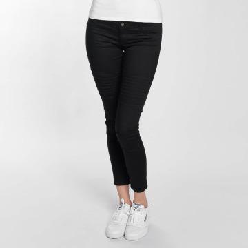 Vero Moda Облегающие джинсы vmHot Five Biker Ankle черный