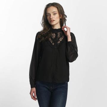 Vero Moda Bluzka/Tuniki vmRose Lace czarny