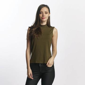 Vero Moda Hihattomat paidat vmBina oliivi