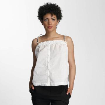 Vero Moda Hihattomat paidat vmDot Midi Singlet Denim valkoinen