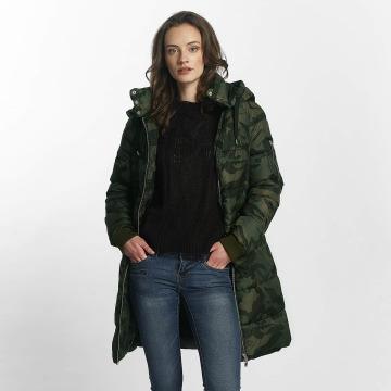Vero Moda Kabáty vmKevina kamufláž