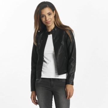Vero Moda Leather Jacket vmSoffy black