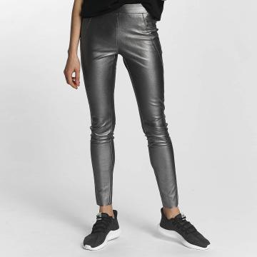 Vero Moda Legging vmSevena Slim Metal argent