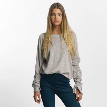 Vero Moda Maglietta a manica lunga vmAntonia grigio