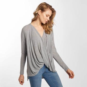 Vero Moda Maglietta a manica lunga vmLuna grigio