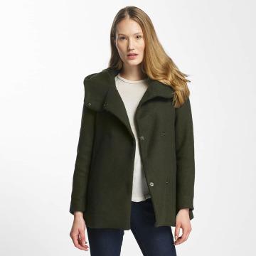 Vero Moda Płaszcze vmCollar zielony