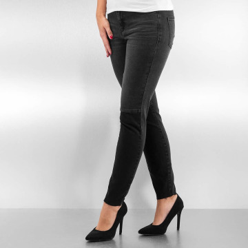 Vero Moda Skinny Jeans vmSeven Slim Patch Ankle black