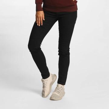 Vero Moda Skinny jeans vmSeven Biker zwart