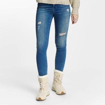 Vero Moda Slim Fit Jeans vmSeven синий