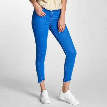 Vero Moda Slim Fit Jeans vmNine modrý