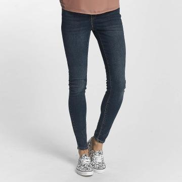 Vero Moda Slim Fit Jeans vmSeven Super Slim modrý