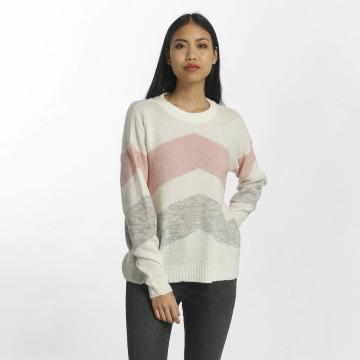 Vero Moda Swetry vmKary Ginger Colorblock bezowy