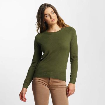 Vero Moda Swetry vmHappy oliwkowy