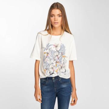 Vero Moda T-Shirt vmVacation blanc