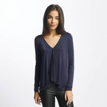 Vero Moda T-Shirt manches longues vmJennie bleu