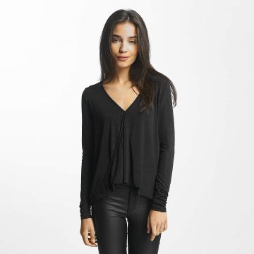 Vero Moda T-Shirt manches longues vmJennie noir