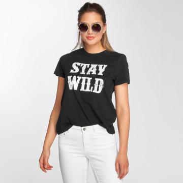Vero Moda T-shirt vmWild svart