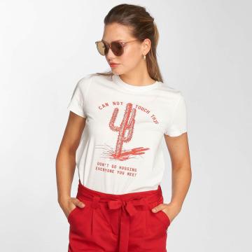 Vero Moda T-shirts vmWild hvid