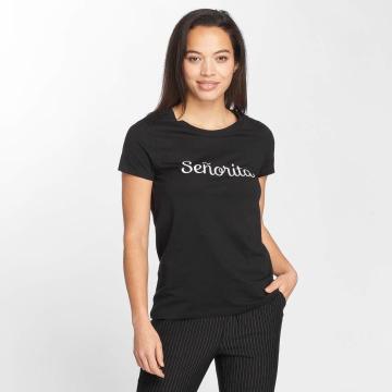 Vero Moda T-Shirty vmLola czarny