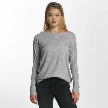 Vero Moda Tričká dlhý rukáv vmBava šedá