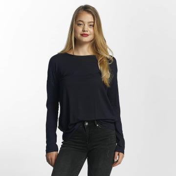 Vero Moda Tričká dlhý rukáv vmBava modrá