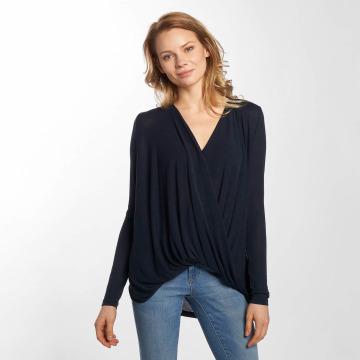 Vero Moda Tričká dlhý rukáv vmLuna modrá