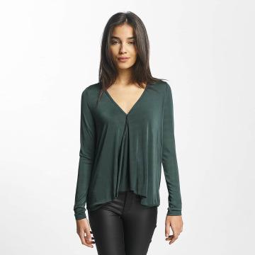 Vero Moda Tričká dlhý rukáv vmJennie zelená