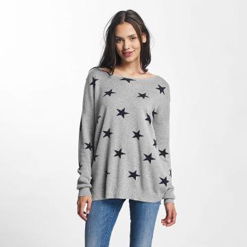 Vero Moda trui vmDotty Oversize grijs