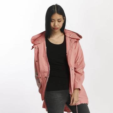 Vero Moda Übergangsjacke vmQueens Champ rosa