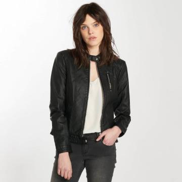 Vero Moda Veste & Blouson en cuir vmCalifornia noir