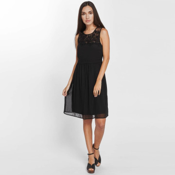 Vero Moda Vestido vmVanessa negro