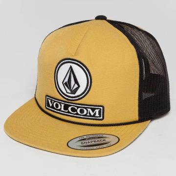 Volcom Casquette Trucker mesh Dually Cheese jaune