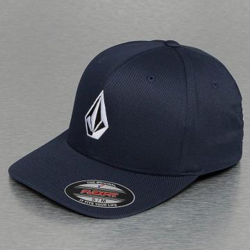 Volcom Flexfitted Cap Full Stone XFit blu