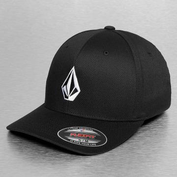 Volcom Flexfitted Cap Full Stone schwarz