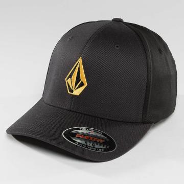 Volcom Flexfitted Cap Full Stone XFit schwarz