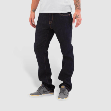 Volcom Jeans straight fit Kinkade blu